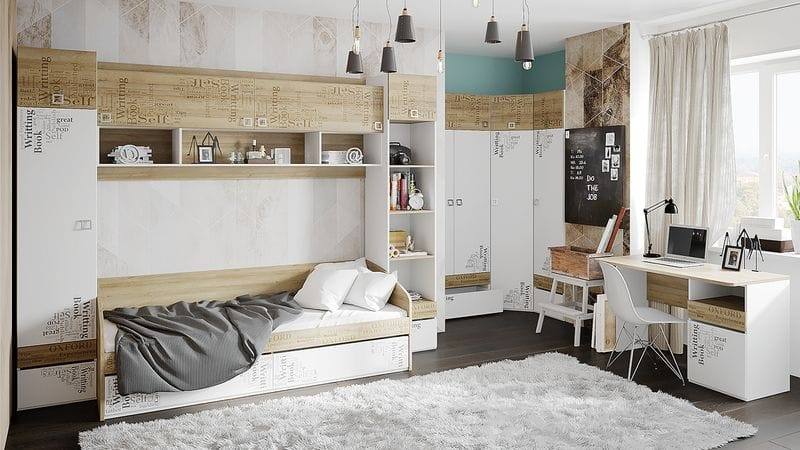 Набор детской мебели «Оксфорд» №2, ГН-139.002