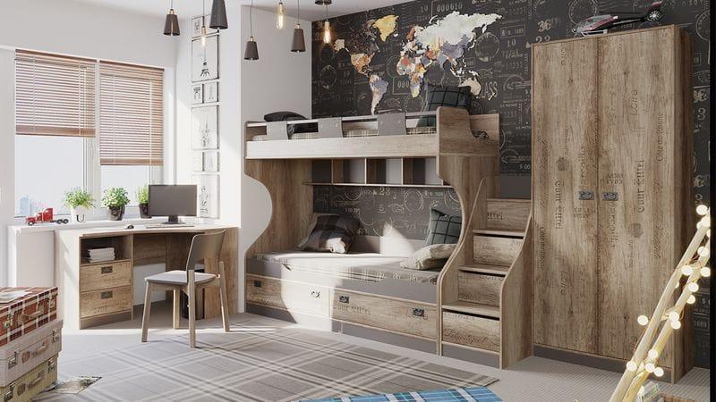 Набор детской мебели «Пилигрим» №4, ГН-276.004