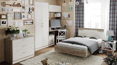 Набор мебели для детской комнаты «Брауни» №1, ГН-313.001