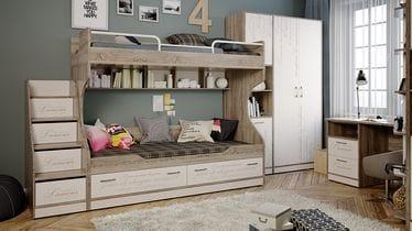 Набор мебели для детской комнаты «Брауни» №2, ГН-313.002