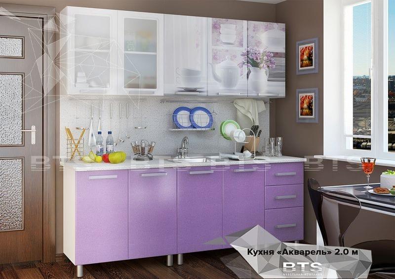 """Кухня """"Люкс-акварель"""" 2,0м"""