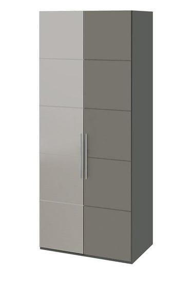 Шкаф с 1-й глухой и 1-й зеркальной левой дверями «Наоми», СМ-208.07.04 L