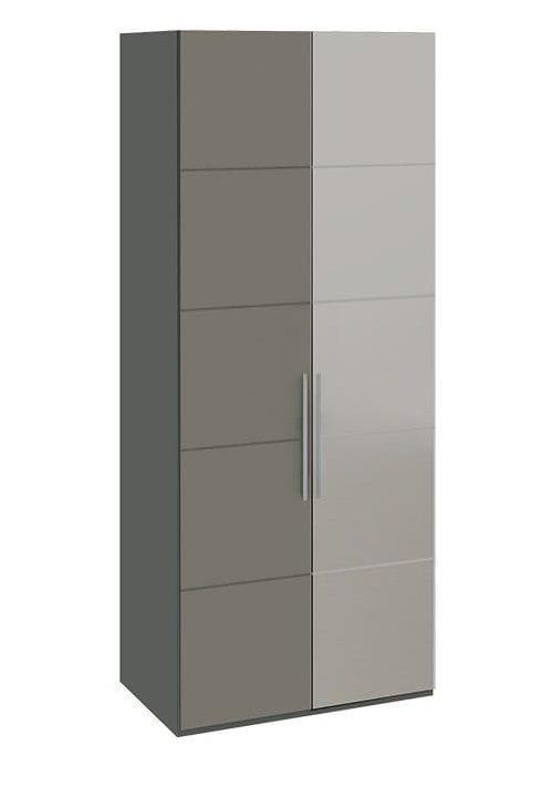 Шкаф с 1-й глухой и 1-й зеркальной правой дверями «Наоми», СМ-208.07.04 R