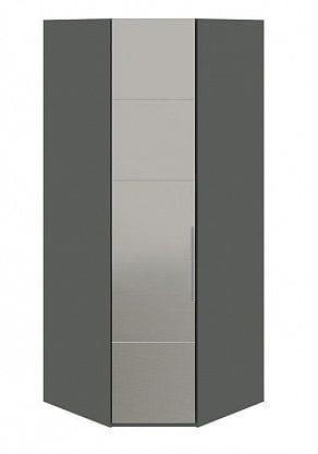 Шкаф угловой с 1-й зеркальной левой дверью «Наоми», СМ-208.07.07 L