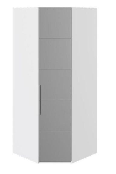 Шкаф угловой с 1-й зеркальной правой дверью «Наоми», СМ-208.07.07 R
