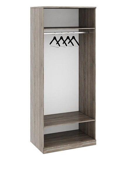 Шкаф для одежды с 1-ой глухой и 1-ой зеркальной дверями «Прованс», СМ-223.07.005R