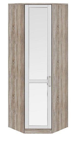 Шкаф угловой с 1-ой зеркальной дверью левый «Прованс», СМ-223.07.027L