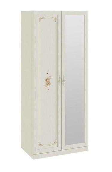 Шкаф для одежды с 1-ой глухой и 1-ой зеркальной дверями «Лючия», СМ-235.07.05