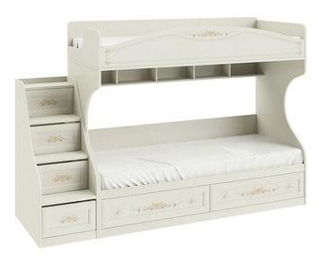Кровать двухъярусная с приставной лестницей «Лючия», СМ-235.11.01