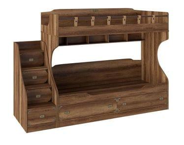 Кровать двухъярусная с приставной лестницей «Навигатор», СМ-250.11.12