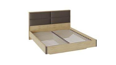Двуспальная кровать «Николь» с мягким изголовьем, СМ-295.01.003