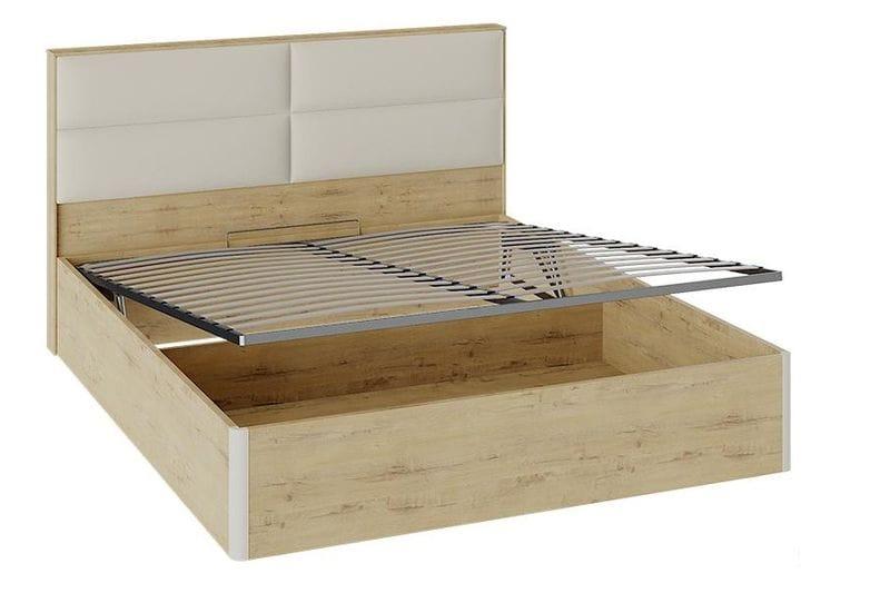 Кровать «Николь» с подъемным механизмом и мягким изголовьем, СМ-295.01.004