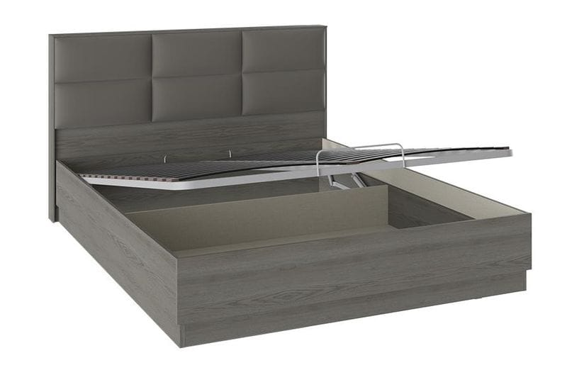 Кровать с подъемным механизмом и мягким изголовьем «Либерти», СМ-297.01.002