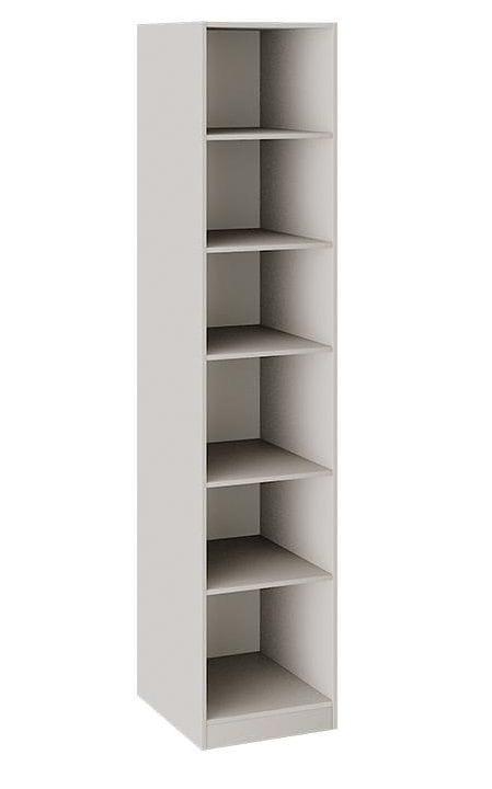 Шкаф для белья с 1 глухой дверью левый с опорой «Сабрина», СМ-307.07.010-01L