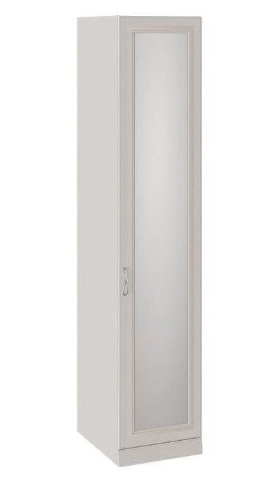 Шкаф для белья с 1 зеркальной дверью с опорой «Сабрина», СМ-307.07.011-01
