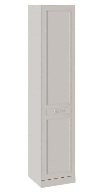 Шкаф для белья с 1 глухой дверью левый с опорой «Сабрина», СМ-307.07.210-01L