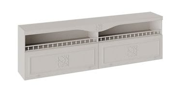 Шкаф навесной с карнизом и балюстрадой «Сабрина», СМ-307.12.002