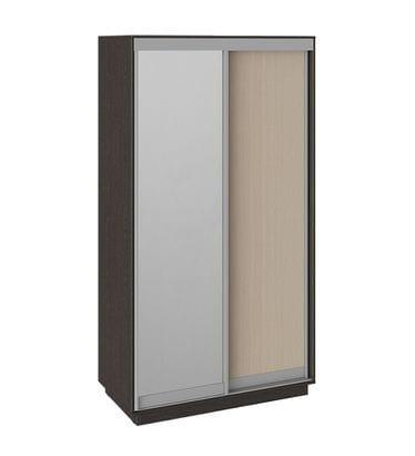 """Шкаф-купе 2-х дверный «Румер», СШК 1.120.60-11.13 """"венге-молочный дуб-зеркало"""""""