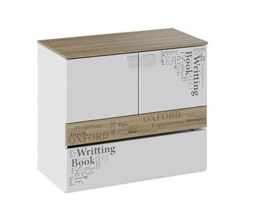 Тумба с ящиком и 2-мя дверями «Оксфорд», ТД-139.04.01