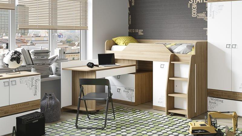 Кровать комбинированная «Оксфорд», ТД-139.11.03