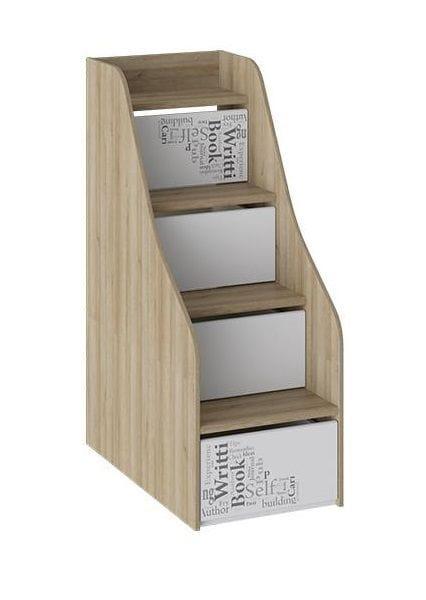 Лестница приставная с ящиками «Оксфорд», ТД-139.11.12