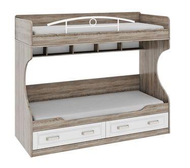 Двухъярусная кровать (без лестницы) «Прованс», ТД-223.11.01