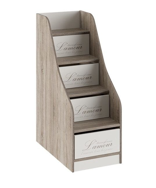 Лестница приставная с ящиками «Брауни», ТД-313.11.12