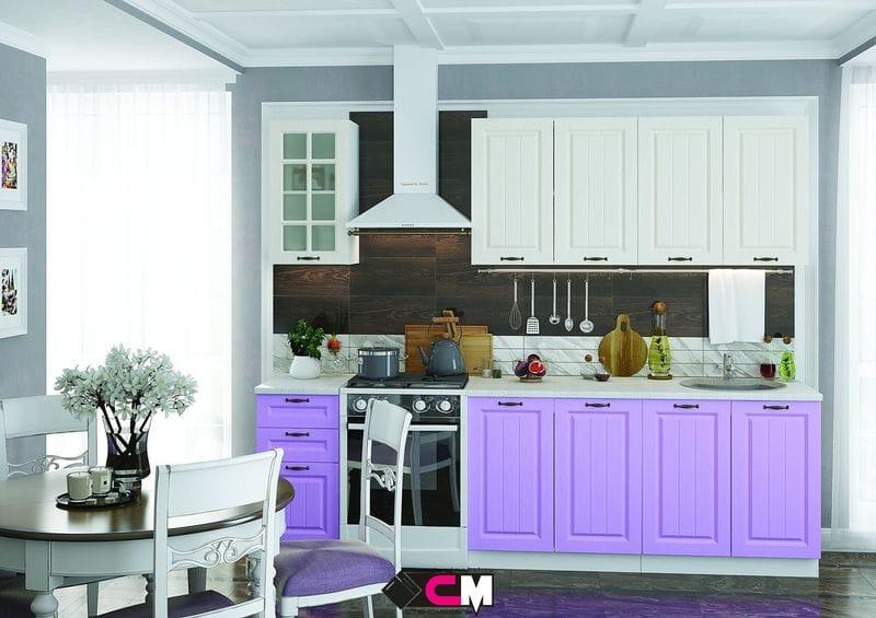 Кухонный гарнитур «Мария», сирень-2