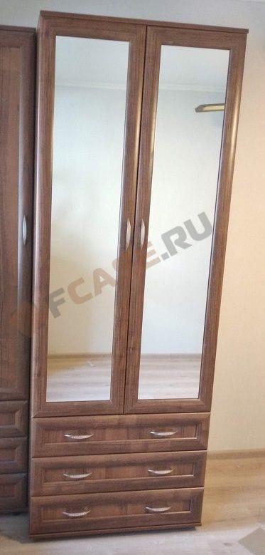 Шкаф для одежды с зеркалами мод-100/2