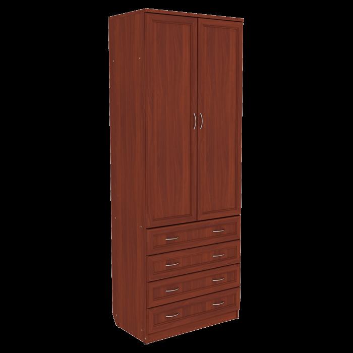 Шкаф со штангой и ящиками арт-103