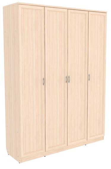 Шкаф для белья со штангой и полками арт-109