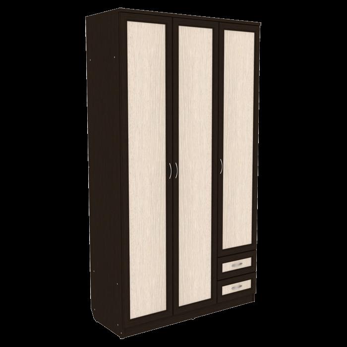 Шкаф со штангой, полками и ящиками арт-113