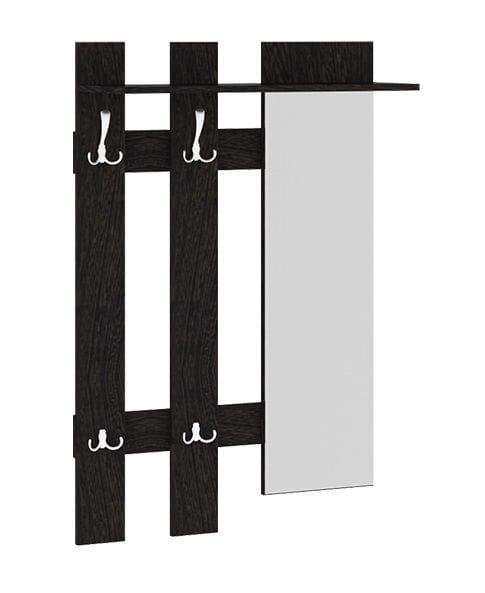 Вешалка с крючками и зеркалом «Арт» мини