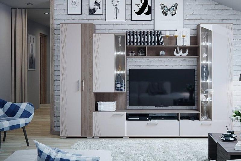 Модульная гостиная «Флай», ГН 264.001