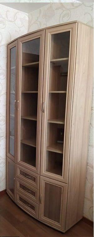 Шкаф для книг и посуды мод-175