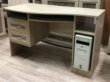 Компьютерный стол с тумбой, мод-176-пр