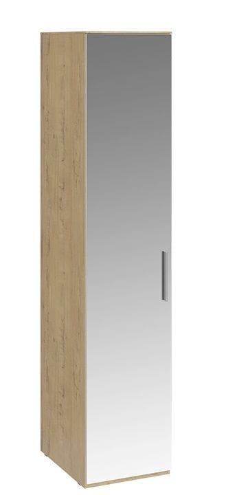 Шкаф для белья с 1 зеркальной дверью левый «Николь», СМ-295.07.002 L