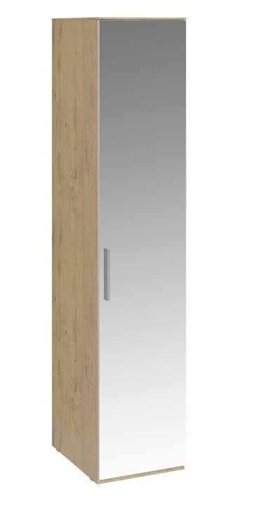 Шкаф для белья с 1 зеркальной дверью правый «Николь», СМ-295.07.002 R