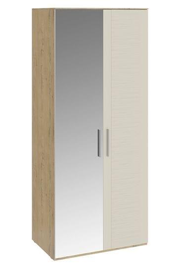 Шкаф для одежды с 1 глухой и 1 зеркальной дверями «Николь», СМ-295.07.005 L