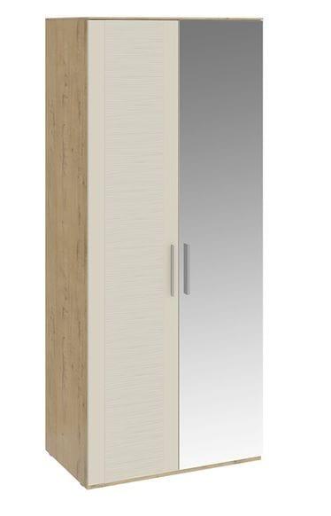 Шкаф для одежды с 1 глухой и 1 зеркальной дверями «Николь», СМ-295.07.005 R