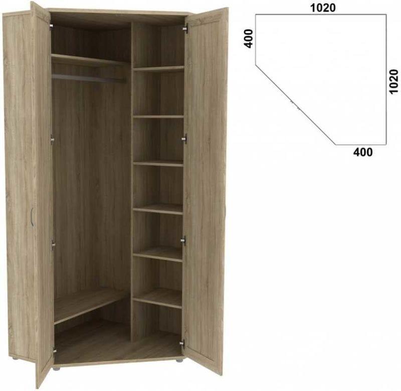 Шкаф угловой  533.01