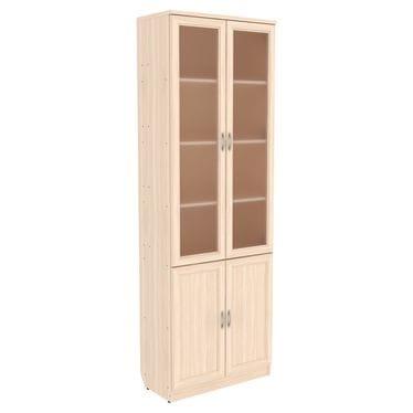Шкаф для книг с двухъярусными полками арт-200
