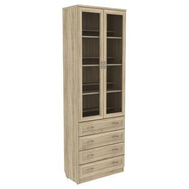 Шкаф для книг с ящиками арт-204