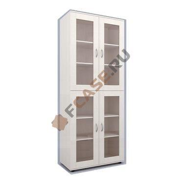 Книжный шкаф со стеклянными дверцами мод-207