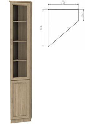 Шкаф-эркер арт-208