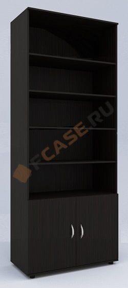 Открытый книжный шкаф мод-209-мс
