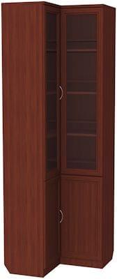 Угловой шкаф для книг арт-211