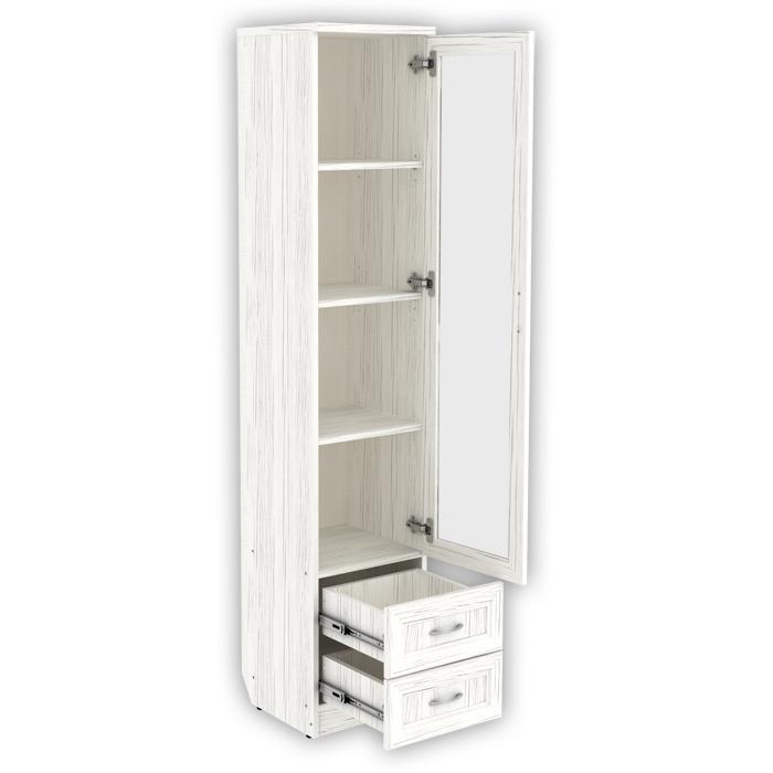 Шкаф для книг с ящиками узкий арт-220