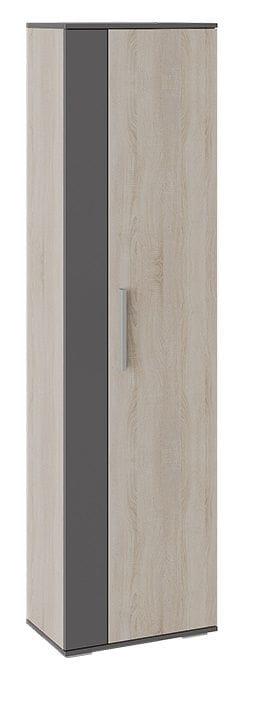 Шкаф для одежды «Нуар» (Фон серый/Дуб сонома)