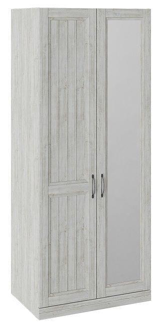 Шкаф для одежды с зеркалом левый «Кантри», СМ-308.07.021L